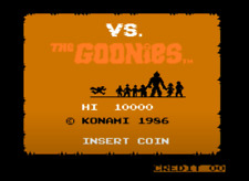 VS GOONIES ARCADE PCB BOARD Tested Working 100%