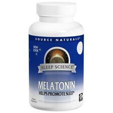 Source Naturals Melatonin Sublingual Orange 1Mg Dietary Supplement - 200 Tablets