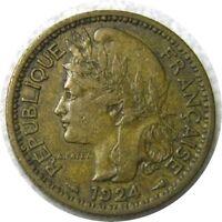elf Togo French 1 Franc 1924