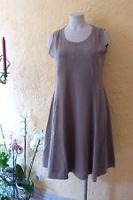 BORIS INDUSTRIES Empire Kleid 46 (4 NEU schlamm MEGA A-Form Baumwolle LAGENLOOK