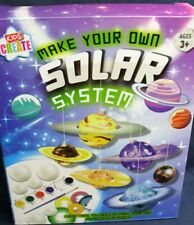 Kids Create Make Your Own SOLAR SYSTEM MOBILE fun & educational paints inc
