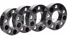 "4 X 5x4.5 Wheel Spacers 5 lug for Dodge Dakota / Durango - 1.5"" Black"