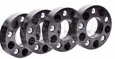 "4 X 1.5"" Thick Black Wheel Spacers 6x4.5 For Dodge Durango Dakota Trucks"