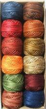 Valdani Perle Cotton Size 12 All Seasons Prairie Moon Embroidery Thread