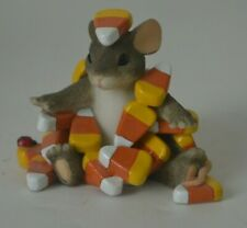 Charming Tails Candy Corn Caper Figurine Fitz and Floyd 85/104 Dean Griff