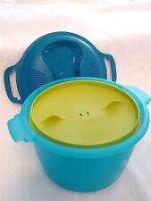 TUPPERWARE Microwave Rice Maker Cooker 9.25 cup