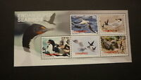 2014 NEW ZEALAND POST STAMPS, SET OF 5 ENDANGERED SEABIRDS MINT MNH MINISHEET