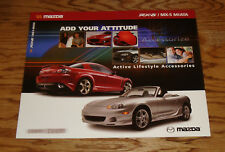 Original 2005 Mazda RX-8 & MX-5 Miata Accessories Sales Brochure 05