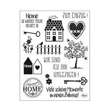 Viva Decor A5 Clear Silicone Stamps Set - Sweet Home #163