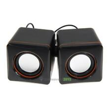 USB 3.5mm Stereo Mini Speaker Subwoofer for Desktop Laptop Notebook Tablet  BEST