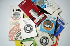 Instruction For Cameras And Lenses For Rollei,Kiev,Vega,Mir,Jupiter And Other.