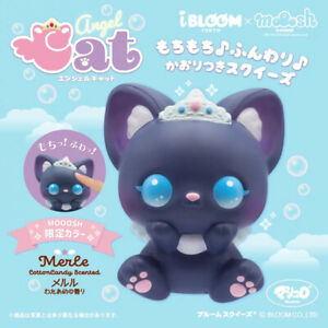 iBloom Squishy Angel Cat Black Merle Squeeze LIMITED NEW