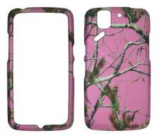 For Pantech Flex P8010 Pnk Pinetree Camo Plane Case Hard Phone Cover