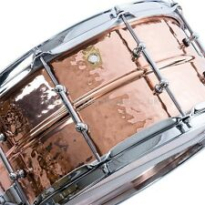 Ludwig LC662KT Copper Phonic 14x6.5 Hammered Snare Drum/Tube Lugs FREE US Ship!