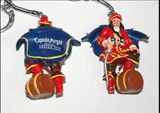 Captain Morgan Original Spiced Rum Ad Promo Figural Key Chain New NOS Bag Sealed