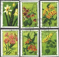 Sao Tome e Principe 568-573 (kompl.Ausg.) gestempelt 1979 Blumen