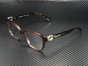 COACH HC6120 5035 Transparent Brown Demo Lens 54 mm Women's Eyeglasses