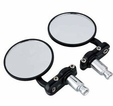 Royal Enfield HANDLE BAR END MIRRORS for All Bike's & Universal Barend Fitting