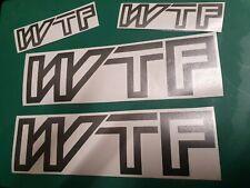 VW Transporter T3 T25 Vinyl Decal Sticker wtf 2wd syncro