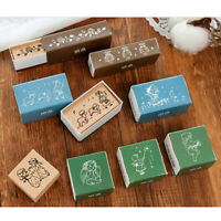 Little angie series wood stamp DIY craft wooden rubber stamps for scrapbook_BDA