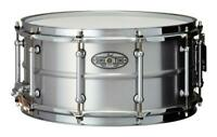 "Pearl 14""x6.5"" Beaded Seamless Aluminum SensiTone Snare Drum"