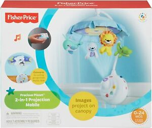 NEW IN BOX SEALED Fisher-Price Precious Planet 2-in-1 Projection Mobile for BABY