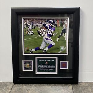 2007 NFL Adrian Peterson #28 Collectible Framed Picture/Plaque LE 109/500