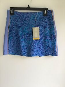 Nike Dri-FIT Printed Golf Skort Women's Size XS Blue