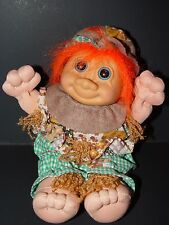 "Troll Doll 9"" Russ Plush Soft Body Scarecrow"
