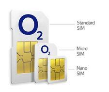 o2 - 02 SIM CARD PAYG NANO MICRO STANDARD 3GB internet & UNLIMITED CALLS & TEXTS