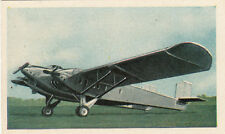 N°282 French Aircraft Dyle et Bacalan DB 70 World War Germany WWI 30s CHROMO