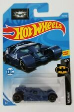 Hot Wheels Batman The Dark Knight Tumbler Batmobile Blue New