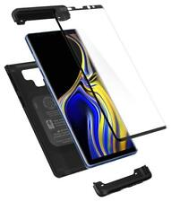 Spigen Samsung Galaxy Note 9 Thin Fit 360° Vollschutz + Glas Hülle Case schwarz