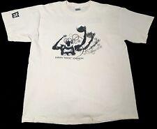 New (L) BEST BUY Magic Johnson Hookshot Grand Opening Cream Shirt Electronics