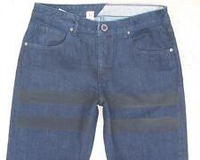 Volcom Stone Men's Jeans Kinkade Low Slim Straight Dark Jeans 32 X 32 NEW