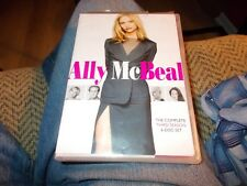 ALLY MCBEAL THE COMPLETE THIRD SEASON  6-DISK SET DVD