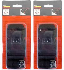Gepäckgurte mit Zahlenschloss 2m lang 50mm breit Koffergurt - 8092011
