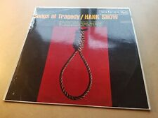 HANK SNOW songs of tragedy VINYL LP - USA / 1964 / FOLK / COUNTRY / EXCELLENT