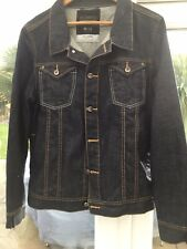 MENS VOI JEANS  DENIM JACKET SIZE XXL, NEW WITHOUT TAGS