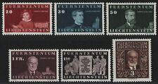 Liechtenstein 1940 - Mi-Nr. 186-191 ** - MNH - Fürst Johann II (I)