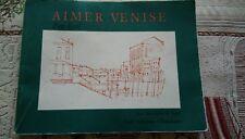 """"""" Aimer Venise """" de Petr Kral avec des dessins de Karel aux éditions Obsidiane"""
