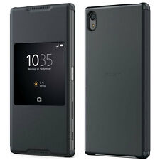 NEW GENUINE SONY SCR46 XPERIA Z5 PREMIUM SMART STYLE UP COVER FLIP CASE BLACK