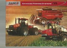 CASE INTERNATIONAL TRACTOR ADVANCED FARMING SYSTEMS BROCHURE CATALOG