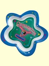 "9"" Diameter Gymnastics Star Plate - Dishwasher Safe - Save $3 - Clearance Priced"
