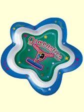 "9"" Diameter Gymnastics Star Plate - Dishwasher Safe - Save $3 - Clearance Priced"