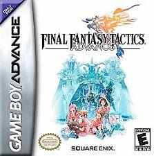 Final Fantasy Tactics Advance - Game Boy Advance Gba Game