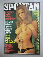 Nostalgiemagazin – Spontan Dezember 1976 - Gondel Verlag -   Herrenmagazin