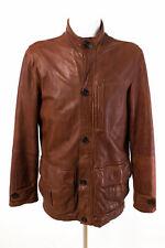 Marc O´Polo Jacke Gr. M / 50 ECHTES LEDER LAMM NAPPA Lederjacke Leather Jacket