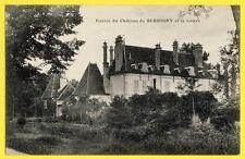 cpa Castle Bourgogne LADOIX SERRIGNY (Côte d'Or) Entrée du CHÂTEAU et la LAUVE
