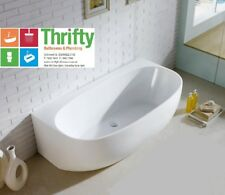 VIZZINI ISOLA 1700 BACK TO WALL FACTORY SECOND FREE STANDING OVAL STYLE BATH